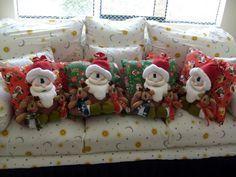 10 ideas que te encantarán Christmas Eve, Xmas, Bottle Painting, Christmas Decorations, Teddy Bear, Fabric, Crafts, Home Decor, Google