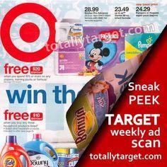 Sneak Peek Target Ad Scan for Week of 3/19 – 3/25. Read more on Totally Target.