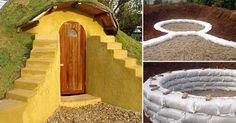 Cómo hacer un domo con sacos de tierra