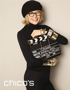 Diane Keaton, 65, finally lands a fashion campaign - TODAY.com