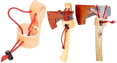 The Damn Yak Axe Holster fits the Gransfors Mini Hatchet, Wildlife Hatchet, Small Forest axe and Hunters Axes, and is hand crafted right here in Ontario from 12 oz. veg tanned tooling leather.