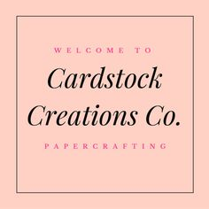 Browse unique items from CardstockCreationsCo on Etsy, a global marketplace of handmade, vintage and creative goods.