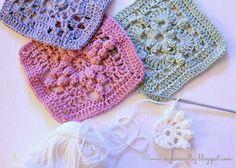 Popcorn Square Crochet Pattern | Photos: www.knitpicks.com