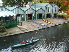 Antigua Boat Sheds, Christchurch, New Zealand