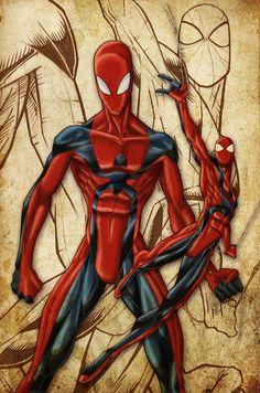Spider-Man character design