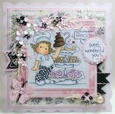 A Sprinkling of Glitter: Sweet Wonderful You - Simon Says Stamp DT Card