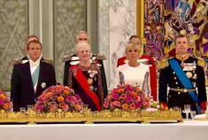 President of the Republic of France, Emmanuel Macron and Mrs. Macron is on a state visit in Denmark August H. The queen held on August at a galla dinner at Christiansborg Castle in honor of the Presidential Couple. Danish Royalty, Emmanuel Macron, Crown Princess Mary, Royal House, The Republic, Royal Families, Royals, Presidents, My Photos
