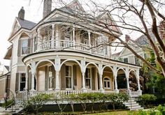 victorian mansion garden district nola - Google Search