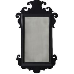 Oomph Charleston Mirror In Black By (1875 PAB) ❤ liked on Polyvore featuring home, home decor, mirrors, black home decor, european home decor, handmade home decor and black mirror