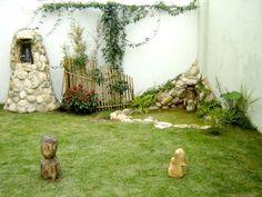 diseo de jardines pequeos rsticos de forma sencilla