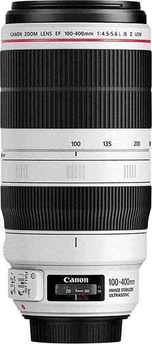 Capture crisp images with this Canon L-Series super telephoto lens, which is compatible with most Canon cameras with an EF mount and features standard, panning and exposure-only optical image stabilization modes to promote clear shots. Canon Dslr Lenses, Canon Zoom Lens, Canon Ef, Camera Lens, Canon Cameras, Canon L Series, Super Telephoto Lens, 400m, Optical Image