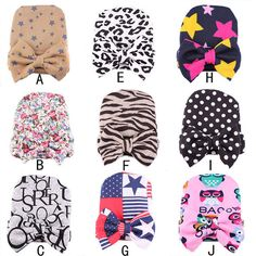 >> Click to Buy << Lovely Winter Autumn Warm Newborn Toddler Baby Infant Dots Zebra Printing Bowknot Flower Hospital Cap Cotton Beanie Hat #Affiliate
