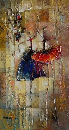 Ballerina Series by Irena Gendelman, Acrylic on Canvas, Painting   Koyman Galleries