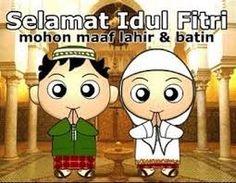 9 Gambar Selamat Hari Raya Idul Fitri Mohon Maaf Lahir Batin