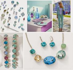 Our Inspiration Behind Our New Spring/Summer Line! #swarovski #fashion #newjewels Touchstone Crystal.com/Pamela Zampella