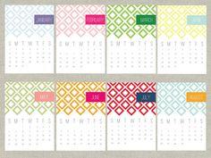 Printable Calendar  #2012 #calendar