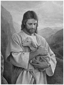 I love and try to follow my Savior, Jesus Christ. mormon.org