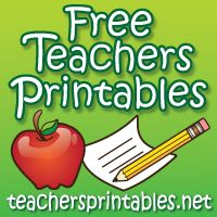 Free Technology for Teachers: 243 Free Printables from Teachers Printables