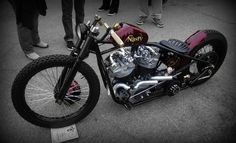 Nasty - shovelhead hardtail custom