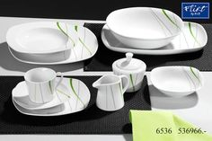 Jedálenská  súprava GRACE, 30-dielna Flirting, Tableware, Medium, Products, Dinner Sets, Home Goods, Coffee Mug, Coffee Cups, Kitchen Dining Rooms