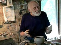 Warren MacKenzie  |  paddling a (floppy) bowl.Warren MacKenzie paddling a floppy bowl by T. Schmidt on Youtube