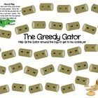 In this fun board game students will roll the dice and move towards helping the gator to his jar of cookies. Along the way they will need to help ...