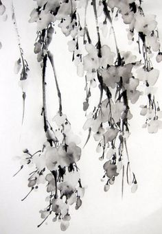 Japanese Ink Painting on Rice Paper 13x20 inchAzian от Suibokuga