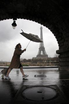 Il pleut. Christophe Jacrot