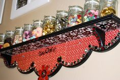 My Crafty Place, #craft room, #organized spaces, #organization, #storage, #creative spaces, #shelf, #DIY