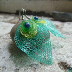 °°oko páva°° plastic bottles jewelry