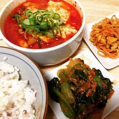 Spicy soft tofu stew with kimchi and pork belly recipe - Maangchi.com