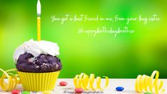 Happy Birthday Brother Wishes, Happy Birthday Cake Images, Birthday Wishes, Cake Pics, Cake Pictures, Say Something Nice, Ways To Show Love, This Is Love, Birthday Quotes