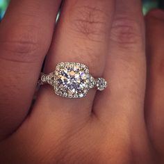 Cushion Cut Engagement Rings Eye Candy