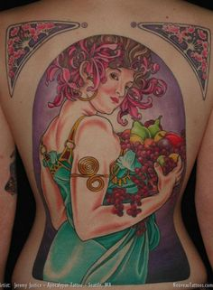 Delicious and Nutritious Fruit and Veggie Tattoos