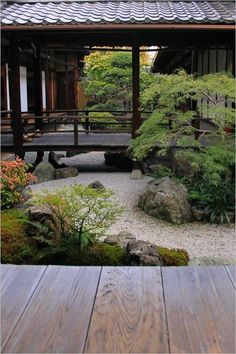 In Love with Japan, - Garden Types Small Japanese Garden, Japanese Garden Design, Japanese Gardens, Garden Types, Zen Garden Design, Landscape Design, Zen House Design, Landscape Rocks, Zen Design