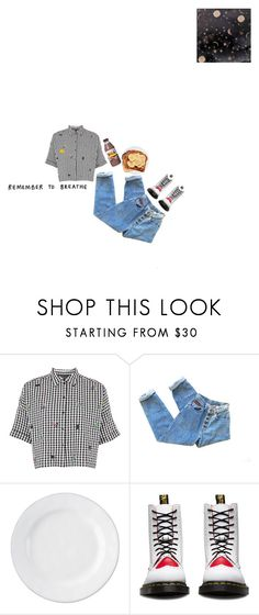 """한 걸음씩 두 걸음씩"" by jeonggguks ❤ liked on Polyvore featuring Topshop, Juliska, Dr. Martens and Aime"
