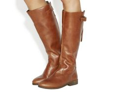 Kinetic  Casual Strap Detail Knee Boots