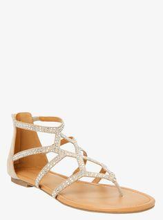 Gemstone Gladiator Sandals (Wide Width) | Torrid