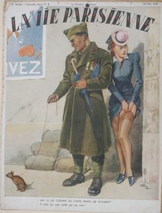 Georges Léonnec (1881 – 1940). La Vie Parisienne, 20  Mai 1940. [Pinned 23-viii-2017]