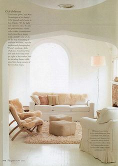 i adore this living room... the colors are gorgeous and i love the neutral palette