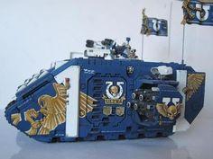Command land raider