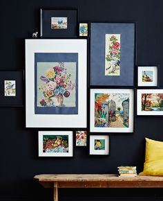 'If you love handicrafts, mix in your own creations with inherited or collected work to create your gallery. It's a lovely way to feel connected to a tradition', says Anna Ohlin, range communicator for IKEA, as she shows us how to map out the perfect (for you) photo gallery wall.