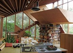 Walstrom House by John Lotner - 1965