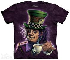 MAD HATTER T-SHIRT BY THE MOUNTAIN®