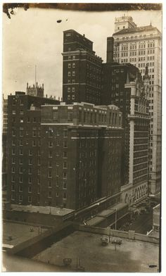Adolphus Hotel circa 1928 Dallas Texas