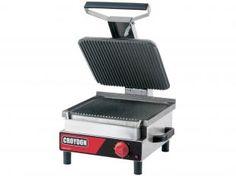 Sanduicheira Elétrica Simples Inox 3200W - Croydon Quente Elétrica SFSE-2