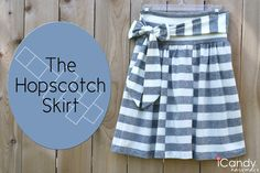 icandy handmade: (tutorial) Hopscotch Skirt