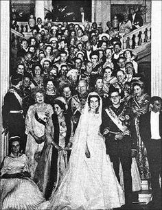 1962 Spanish Wedding (for fun - although could be a fun pic with the stairs at Darlington... )