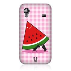 Amazon.com : Head Case Watermelon Kawaii Picnic Ants Back Case For Samsung Galaxy Ace S5830 : Cell Phones & Accessories