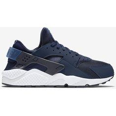 Nike Air Huarache Men's Shoe. Nike.com ($110) ❤ liked on Polyvore featuring men's fashion, men's shoes, nike mens shoes and mens shoes